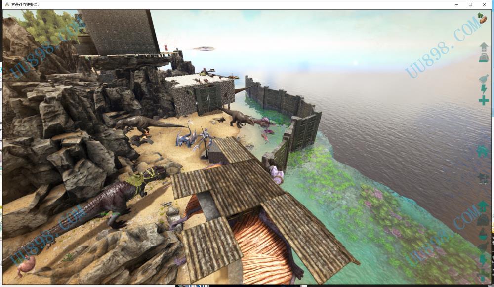 方舟:生存进化,宣战服-1区,孤岛57服网