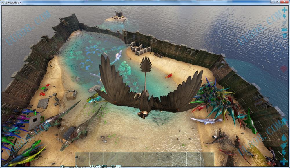 宣战服-1区 孤岛76服 方舟:生存进化其他交易  看图吧,家里还有一整套